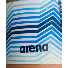 arena Multicolor Stripes Shorts Cintura Baja Hombre, navy/multi